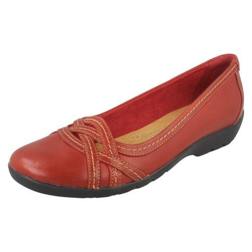 Ladies Clarks Lattice Front Smart Shoes Ordell Tessa - D Fit