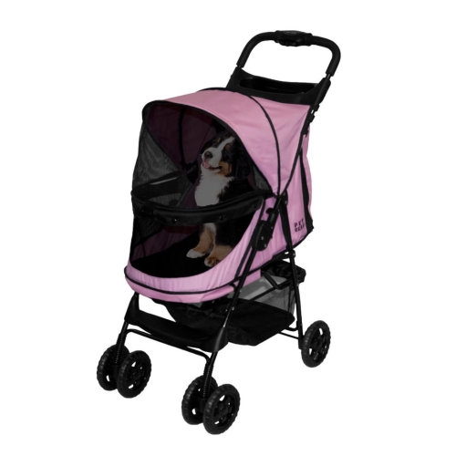 Happy Trails No Zip Stroller Pink