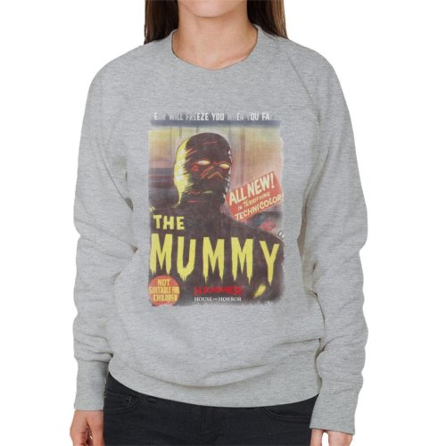 Hammer The Mummy 1959 Film Poster Women's Sweatshirt