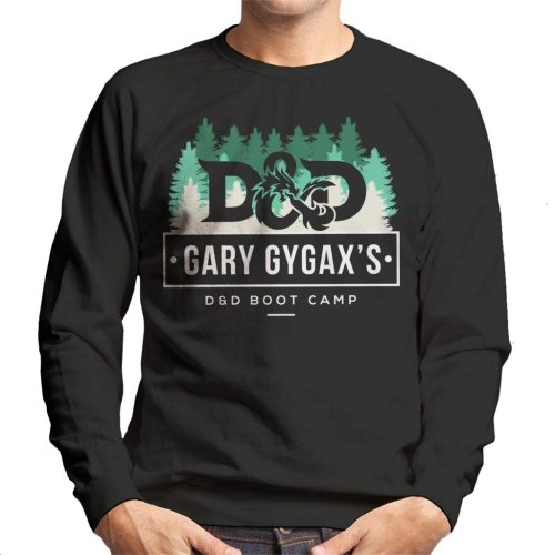 Dungeons And Dragons Gary Gygax Boot Camp Men's Sweatshirt