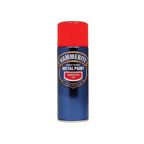 Hammerite SFBLAERO Direct to Rust Smooth Finish Aerosol Black 400ml