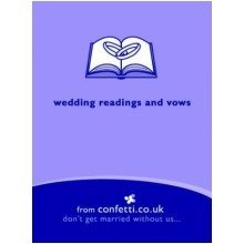 Wedding Readings and Vows (confetti)