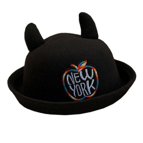 Autumn winter/Comfortable/Elegant Floppy Hat/Bowler Hat Fashionable Style Beautiful Brim Hat ForGirl