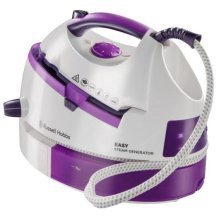 Russell Hobbs Easy Steam Generator Iron 2800 W - White and Purple (Model 20330)