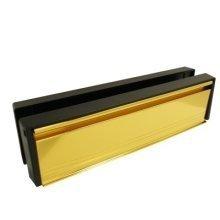 "UPVC Letterbox Gold 12"""