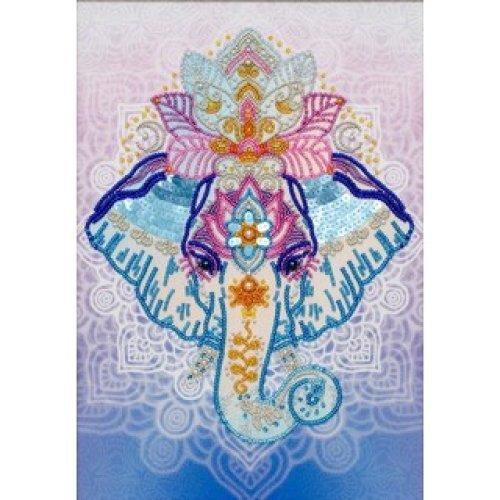 VDV Bead Embroidery Kit - The Symbol Of Wisdom