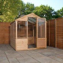 8x6 Budget Greenhouse