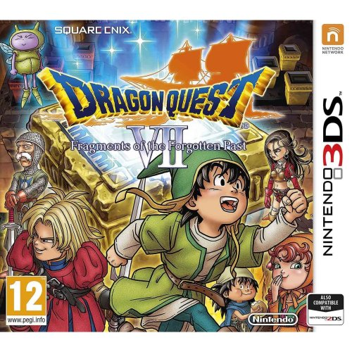 Dragon Quest VII Fragments of the Forgotten Past Game Nintendo 3DS