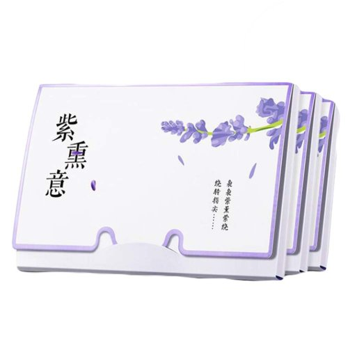 Lavender Oil Absorbing Sheets Oil Control Blotting Paper, 300 Sheets
