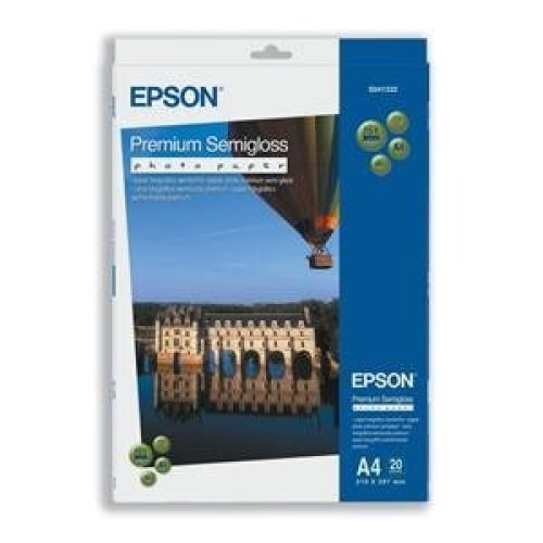 Epson Premium Semigloss Photo Paper, DIN A4, 251g/m2, 20 Sheets photo paper