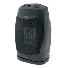 Lloytron PTC Ceramic Oscillating Heater 1500W - Black (Model No. F2202BK)