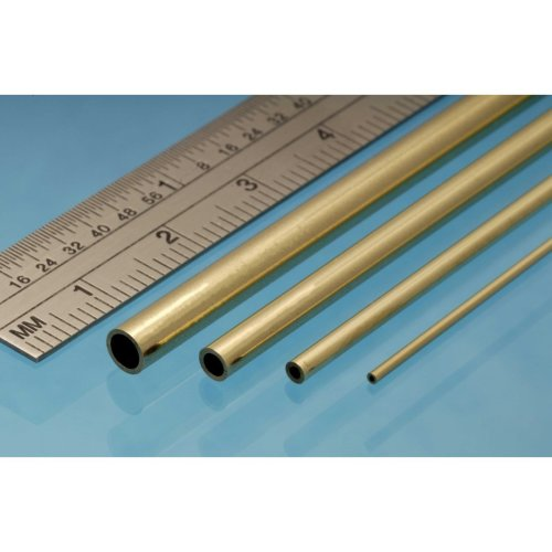 Brass Tube 1mm x 305mm - Pack of 4