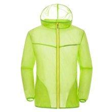 Sun Protective Clothing Women's Clothing Long Sleeve Shirts Raincoat Fluorescent