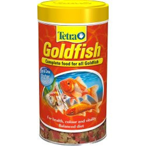 500ml Tetra Goldfish Flakes -  goldfish tetra 100g food flakes tetrafin