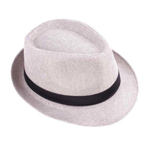 0571a5f8945 Classic Men Women Outdoors Summer Short Brim Straw Sun Hat White on OnBuy