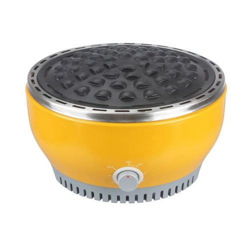 Qlima Charcoal Table Grill 29 cm Yellow NJOY 1007