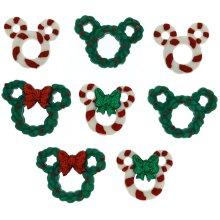 Dress It Up Licensed Embellishments-Disney Wreath & Canes