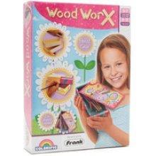 Colorific Wood Worx Pencil Case Kit - Childrens -  wood worx pencil case kit childrens