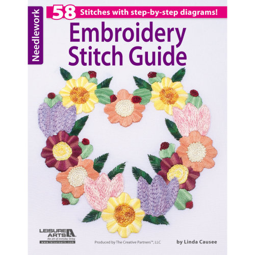 Leisure Arts-Embroidery Stitch Guide