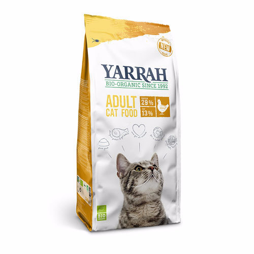 Yarrah  Adult Organic Cat Food - Chicken 2.4kg