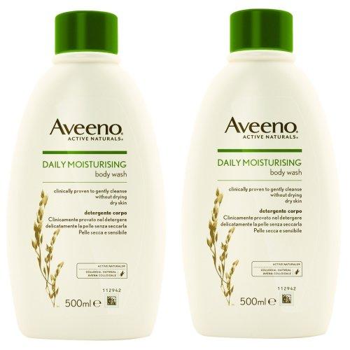 Aveeno 2 PACK Body Wash 500ml…