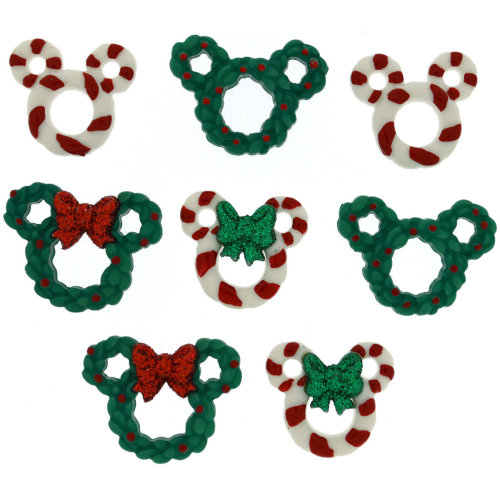 Dress It Up Licensed Embellishments-Disney Wreath & Canes