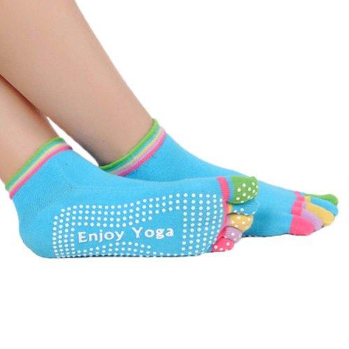 Five-finger Cotton Sports Socks Soft Non-slip New Design Yoga Socks #4
