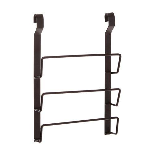 Sorello Hanging Pan Lid Rack, Iron, Black
