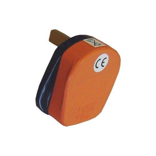 Omega 21084 Orange 13A 3 Pin Fused Plug