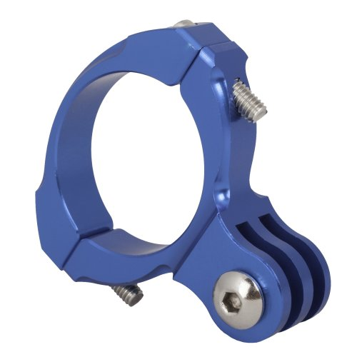 Urban Factory Bike mount aluminium (up to max tube 31.8mm) Blue. For all GoPro cameras