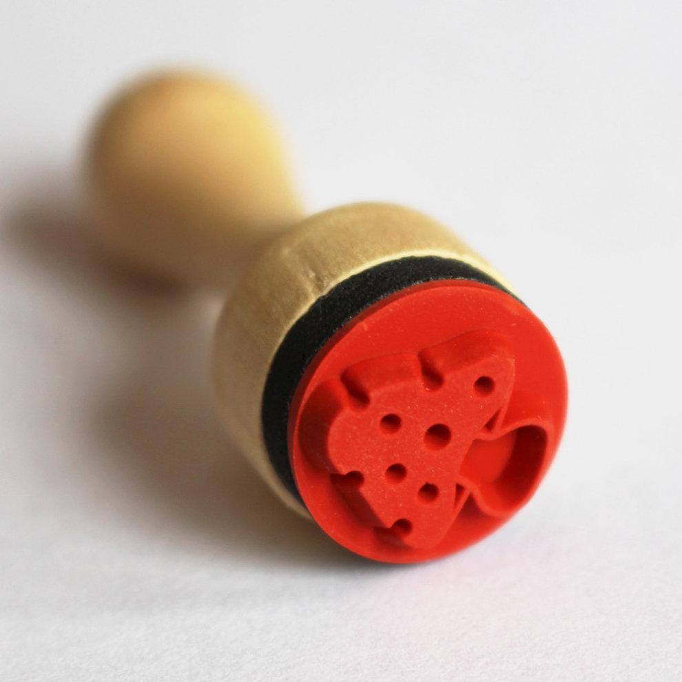 Scrapbooking Very Mini Mushroom Toadstool Rubber Stamp Craft
