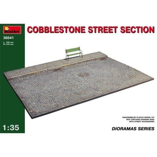 Min36041 - Miniart 1:35 - Cobblestone Street Section