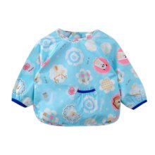 Lovely Baby Bibs Feeding Bib Kid's Apron Overclothes Waterproof Long Sleeves Art Smock NO.01