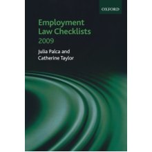 Employment Law Checklists 2008/09