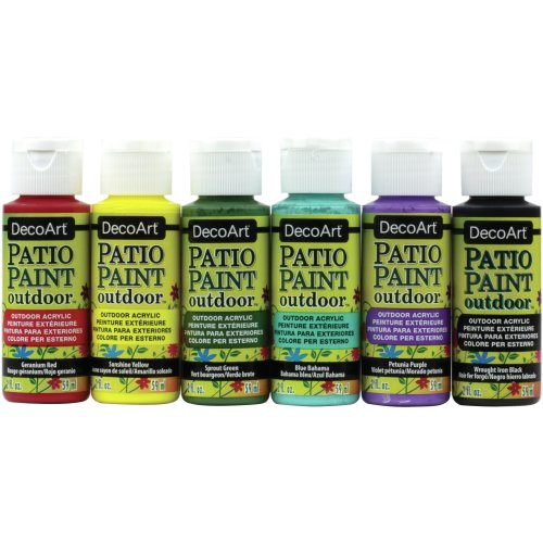 Patio Paint Value Pack 6/Pkg-