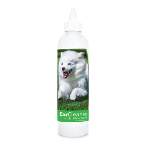 Healthy Breeds 840235197164 8 oz American Eskimo Dog Ear Cleanse with Aloe Vera Cucumber Melon