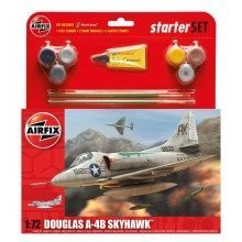 Air55203 - Airfix Medium Starter Set - 1:72 - Douglas A4-b Skyhawk