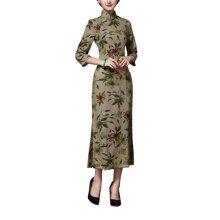 Elegant Oriental Cheongsam Qipao Chinese Style Costume Dresses, #05