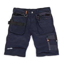 Scruffs Trade Work Shorts Ink Blue