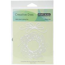 "Penny Black Creative Dies-Whirl Wreath, 1.5"" To 4.5"""