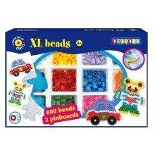 Pbx2456261 - Playbox - Xl-bead Set - 600 Pcs - Car & Bear