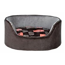 Trixie Currito Dog Bed, 55 x 45 Cm, Taupe/grey - Bedcm Cushion Taupegrey Pet -  trixie dog bed 55 45 cm cushion currito taupegrey pet cat puppy cover