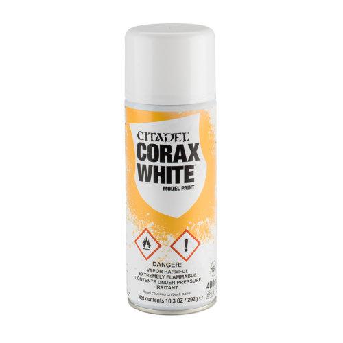 Warhammer Paint: Corax White Spray