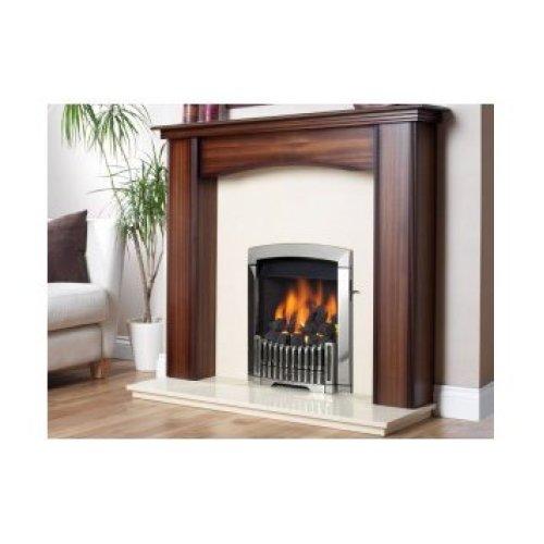 Designer Fire - Flavel FDCN68SN Silver Rhapsody Gas - SC