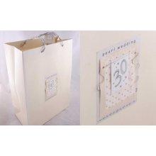 Pearl Wedding Gift Bag by Hooli Mooli accessories