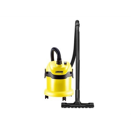 Karcher WD2 Wet and Dry Cylinder Vacuum Cleaner 1000W 12L 1.9m Hose 1629763
