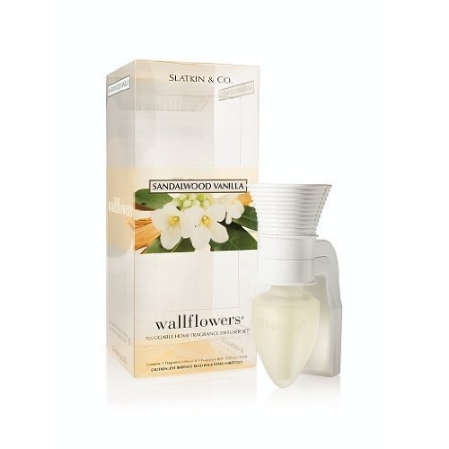 Bath & Body Works Slatkin & Co Sandalwood Vanilla Wallflower Pluggable Home Frag