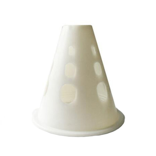 20Pcs Slalom Cones Skating Cone Traffic/ Training Cones/ Markers/ Barrier-White