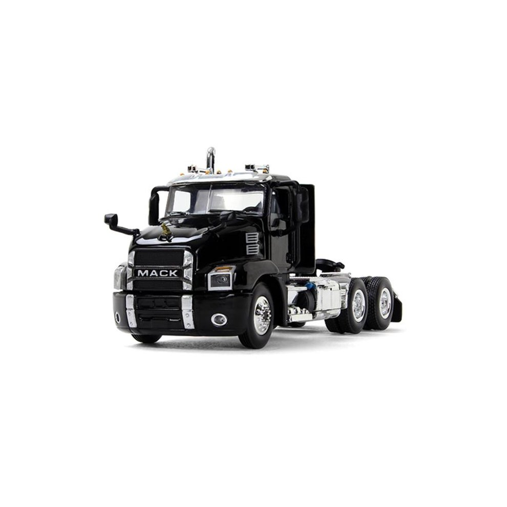 First Gear 60-0406 1-64 Scale Mack Anthem Day Cab Diecast Model Truck -  Black