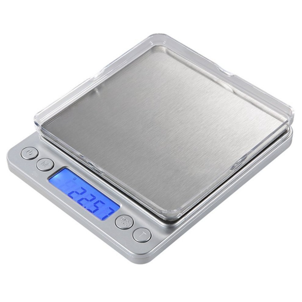 Vantskitt high precision electronic scales 3000g x 0 1g stainless steel kitchen scale mini pocket jewelry scales coffee scales sliver on onbuy